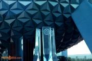 EPCOT Entrance Fountain