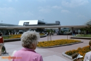 EPCOT Monorail Station and Entrance