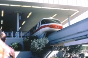 Monorail Red at Transportation & Ticket Center