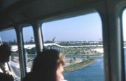 Monorail Ride to Magic Kingdom