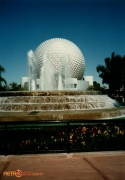 Fountain of Nations in front of Spaceship Earth