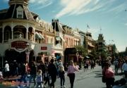 Shot of Main Street USA in Magic Kingdom