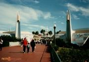 Entrance to Tomorrowland Daytime
