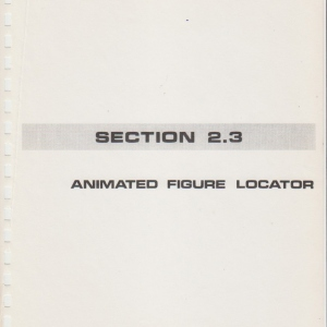 Space Mountain Show Maintenance Manual Volume 1 - p03