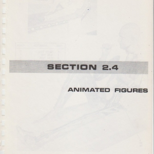 Space Mountain Show Maintenance Manual Volume 1 - p05