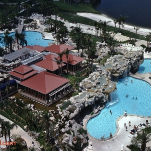 Hyatt-Grand-Cypress-Pool-Hemingways-Aerial