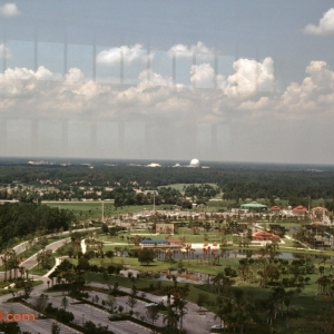 View of Epcot from the Hyatt Grand Cypress
