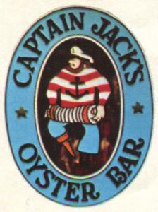Captain Jacks Oyster Bar Sign