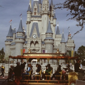 Magic Kingdom Front of Cinderella Castle Horse Drawn Carriage