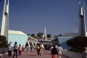 Tomorrowland Entrance with Spires