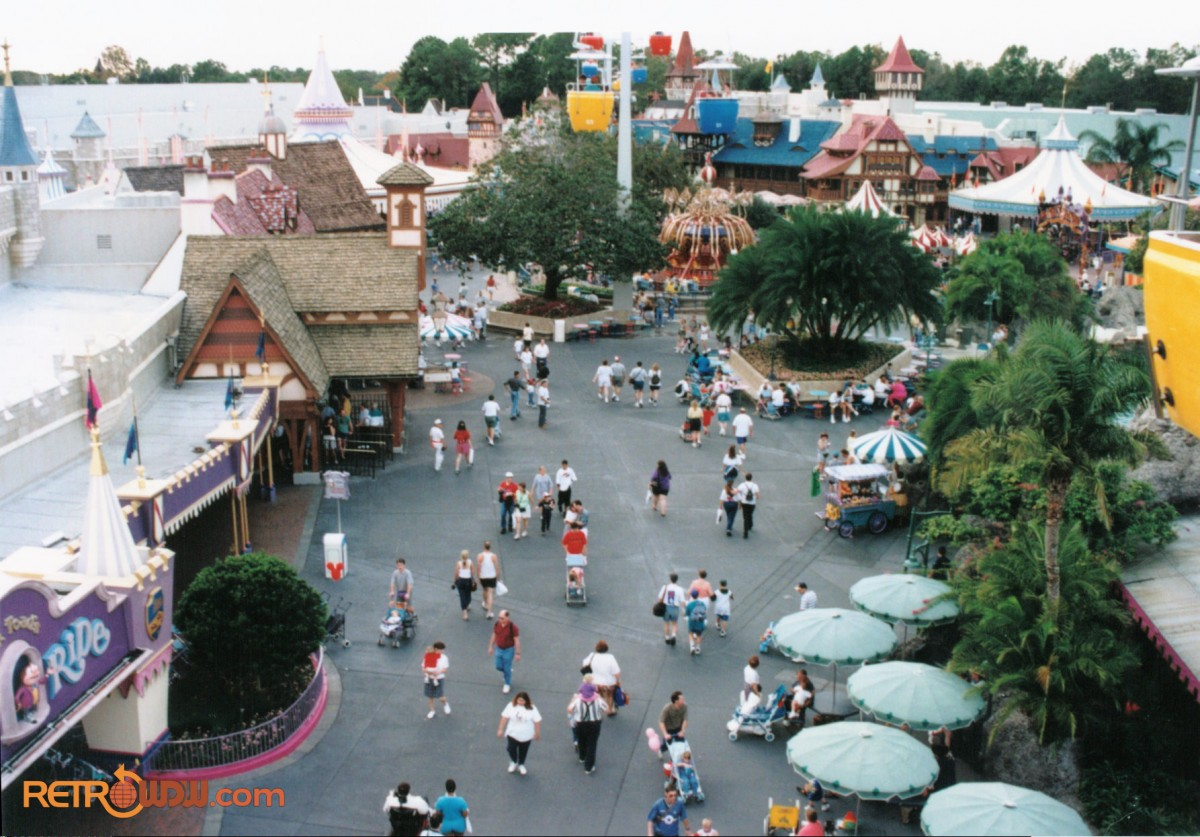 Fantasyland As Seen From The Skyway