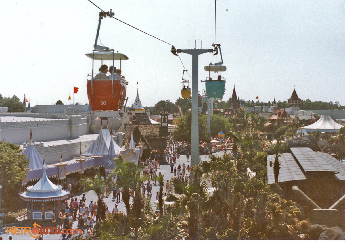 Fantasyland Skyway in 1985