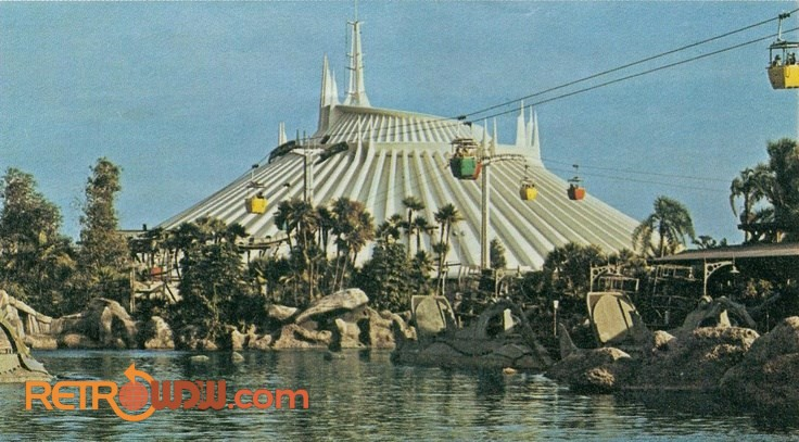 Space Mountain and 20,000 Leagues in 1975