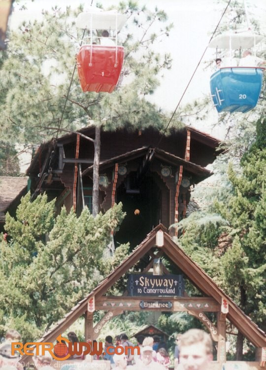 Fantasyland Skyway Station