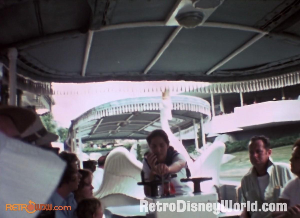 Magic Kingdom and Swan Boats (1976)