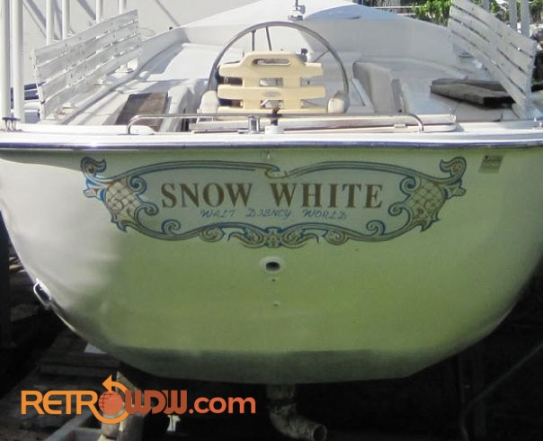 Snow White Swan Boat