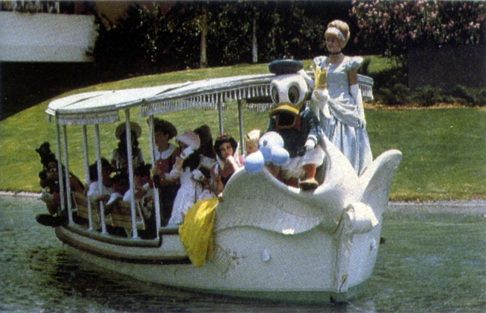 Plaza Swan Boats