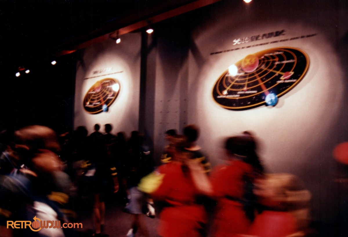Alien Encounter Queue Area (inside) - 1995