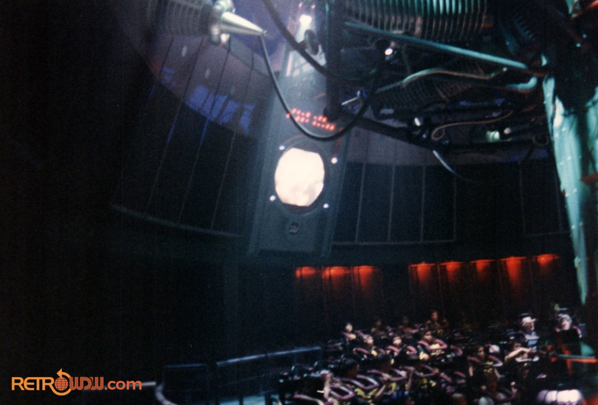 Inside the Main Show Room of Alien Encounter
