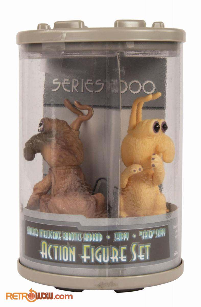 Alien Encounter Toys - 1995 - Skippy, Fried Skippy and S.I.R. set