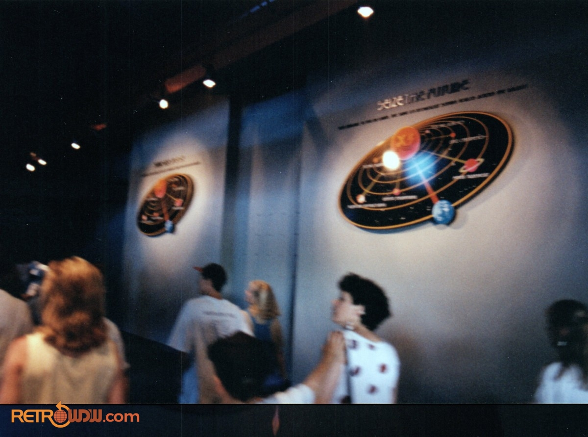 Alien Encounter Queue Area (inside) - 1994