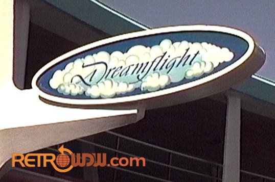 Delta Dreamflight Attraction Signage