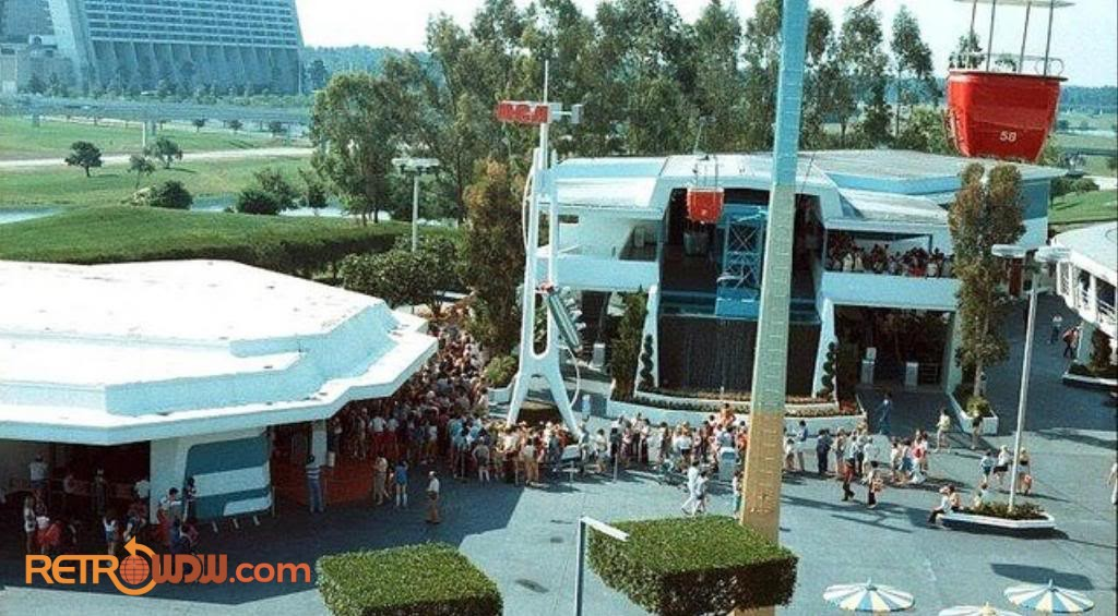 Tomorrowland Skyway Station