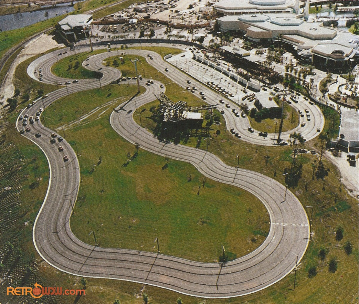 Tomorrowland Grand Prix with Skyway Transfer Station