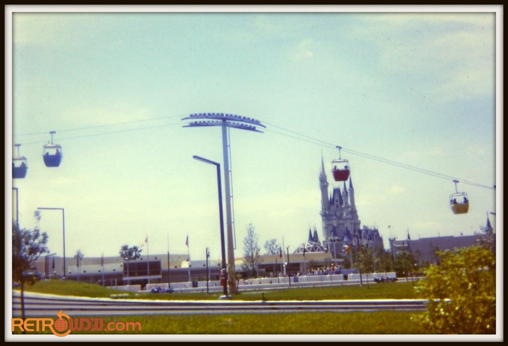 Tomorrowland Skyway Pylon
