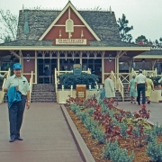 Frontierland RR Station