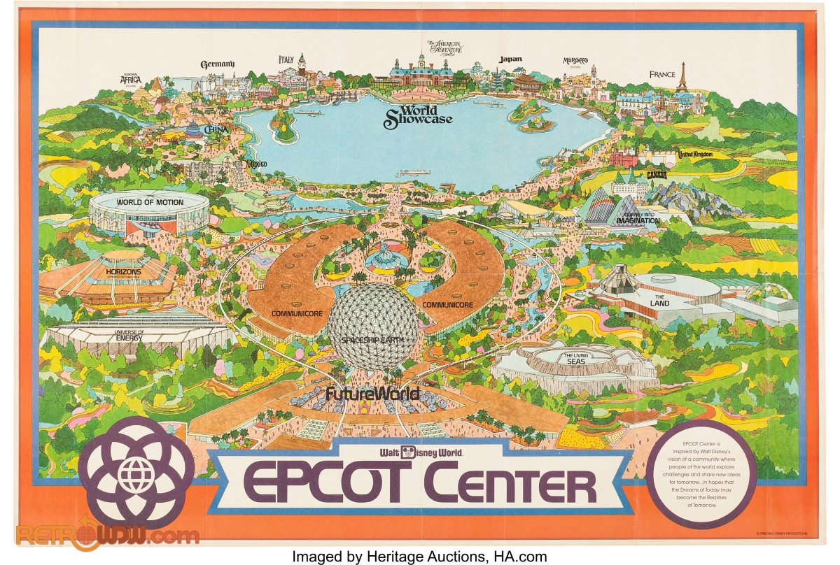 disney world epcot map pdf