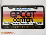 EPCOT Opening Novelty License Plate 1