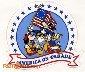 America On Parade Sticker