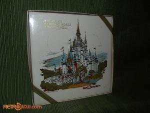 WDW Trivet Cinderella's Castle