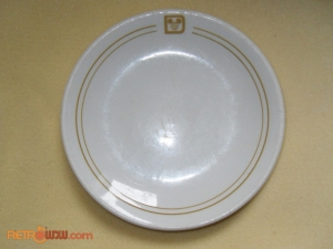 Mickey Globe Dinner Plate