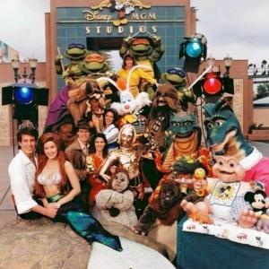 Disney-MGM Studios Character Publicity Shot