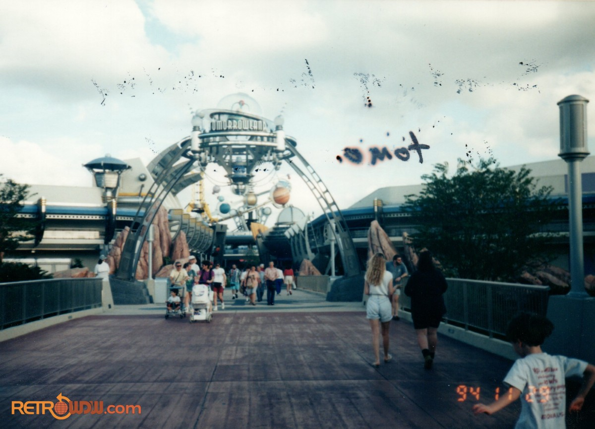 Tomorrowland Entry Bridge