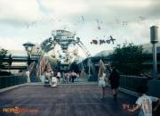 Tomorrowland Entry Bridge