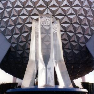 Future World Fountain and Spaceship Earth