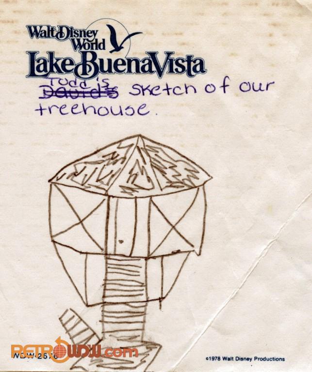 Lake Buena Vista Notepad