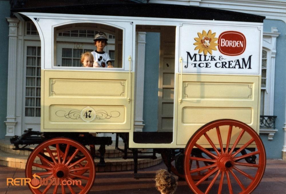 Bordens Ice Cream Wagon