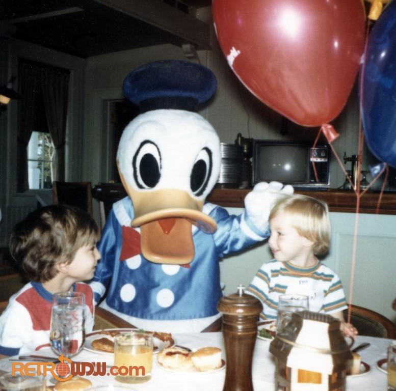 Donald Duck Meet and Greet