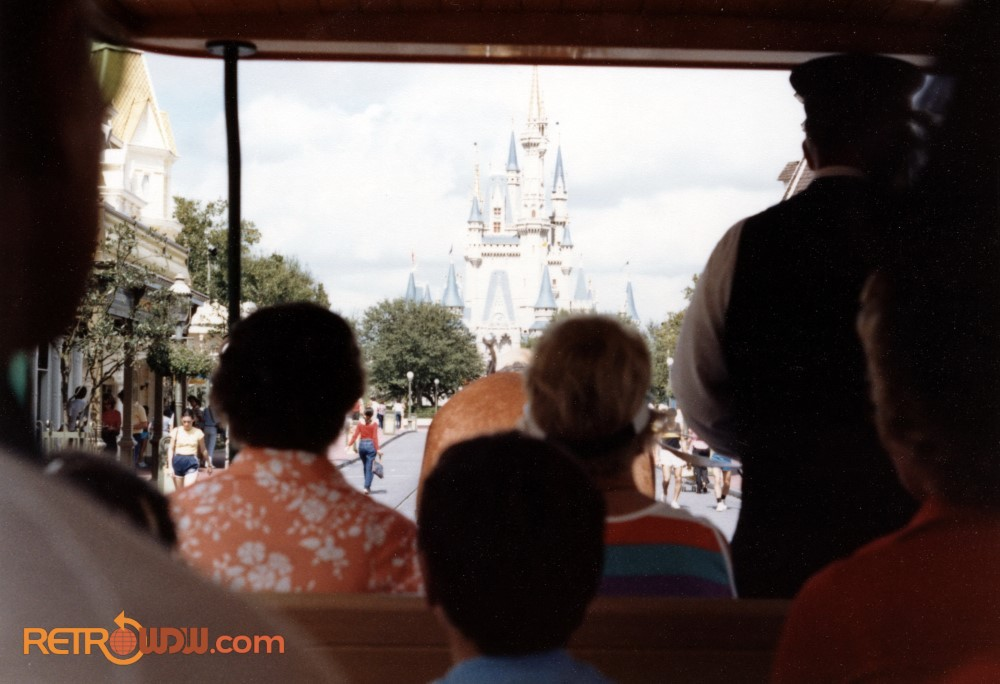 View from Main St. USA Streetcar