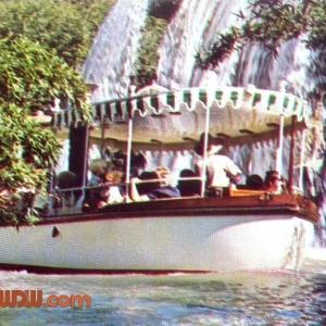 Jungle Cruise Postcard