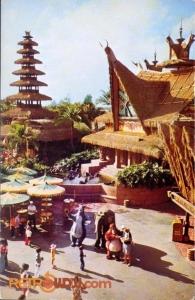 Sunshine Tree Terrace Postcard