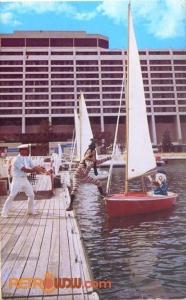 Sailing at Contemporary Postcard