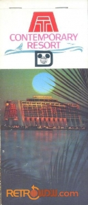 Contemporary Resort Postcard Cover