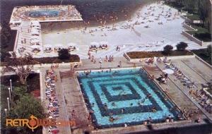 Pool and Beach Postcard