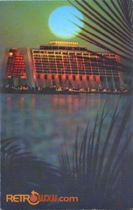 Contemporary Sunset Postcard Cover