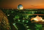 1982 Epcot Future World Postcard